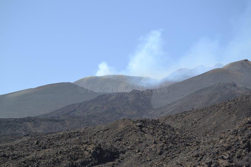 平安的Etna'谈话' 免版税库存照片