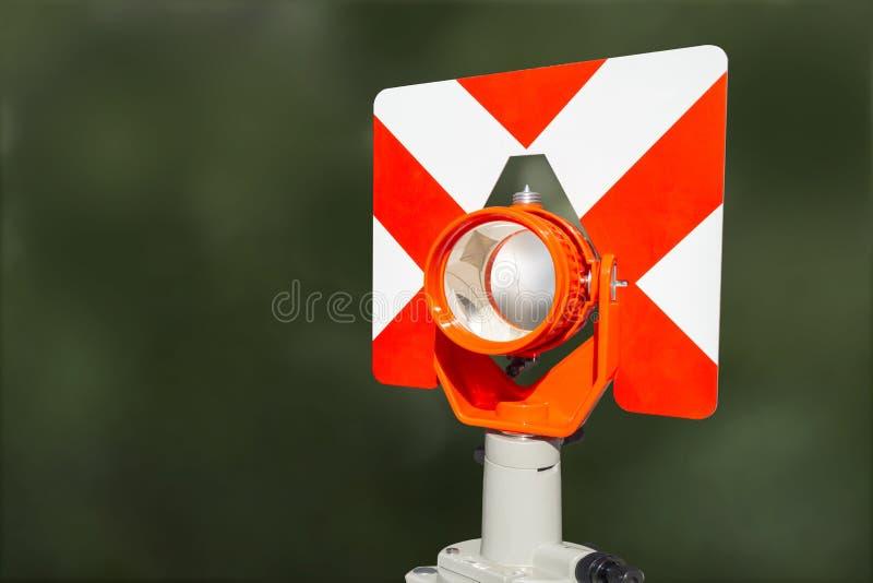 平实技术测量的光学 免版税库存图片