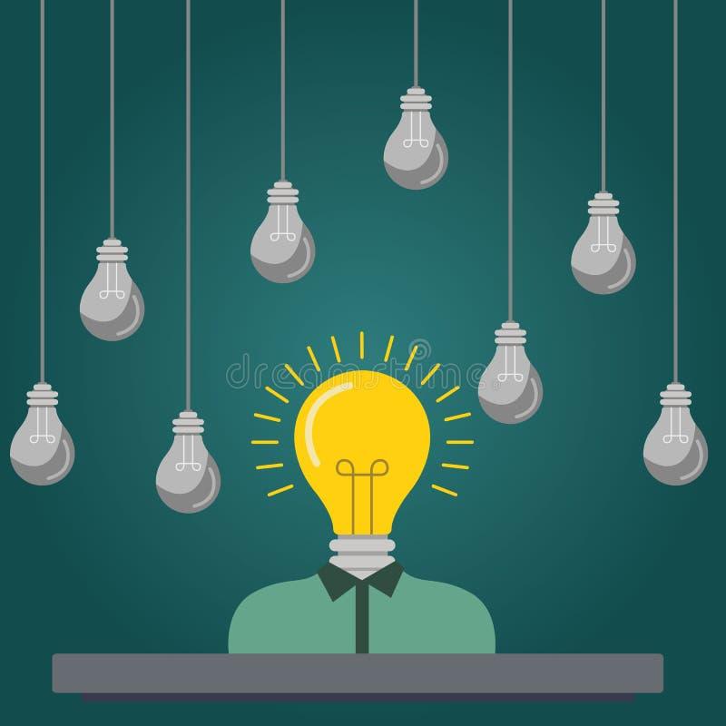 平的人力调配的, headhunting设计五颜六色的传染媒介例证概念,搜寻有天才的创造性的雇员 向量例证