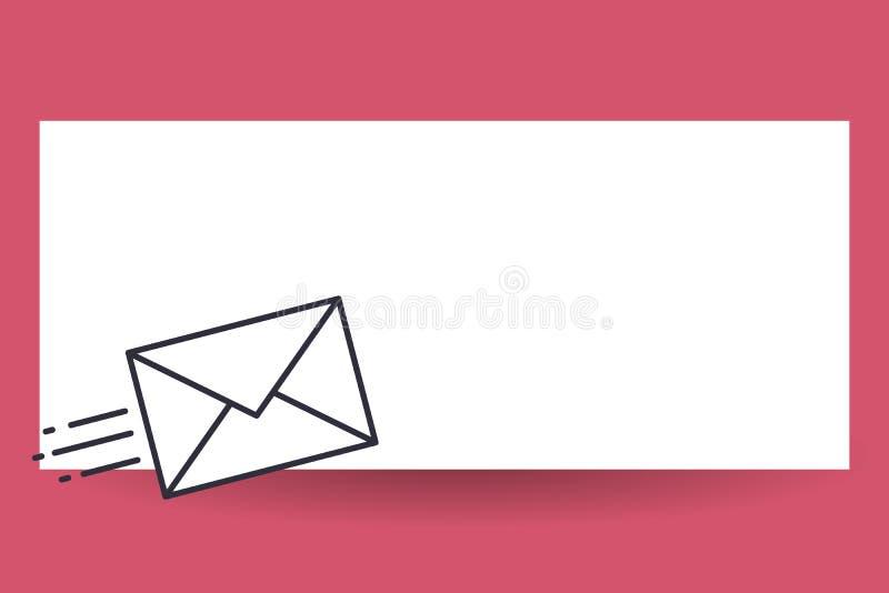 平的布局的设计企业传染媒介例证空的模板邀请贺卡促进海报证件的斋戒熟食店 库存例证