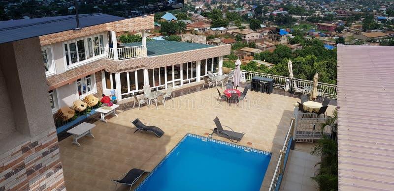 平的旅馆Hirmode à 马塔迪 图库摄影