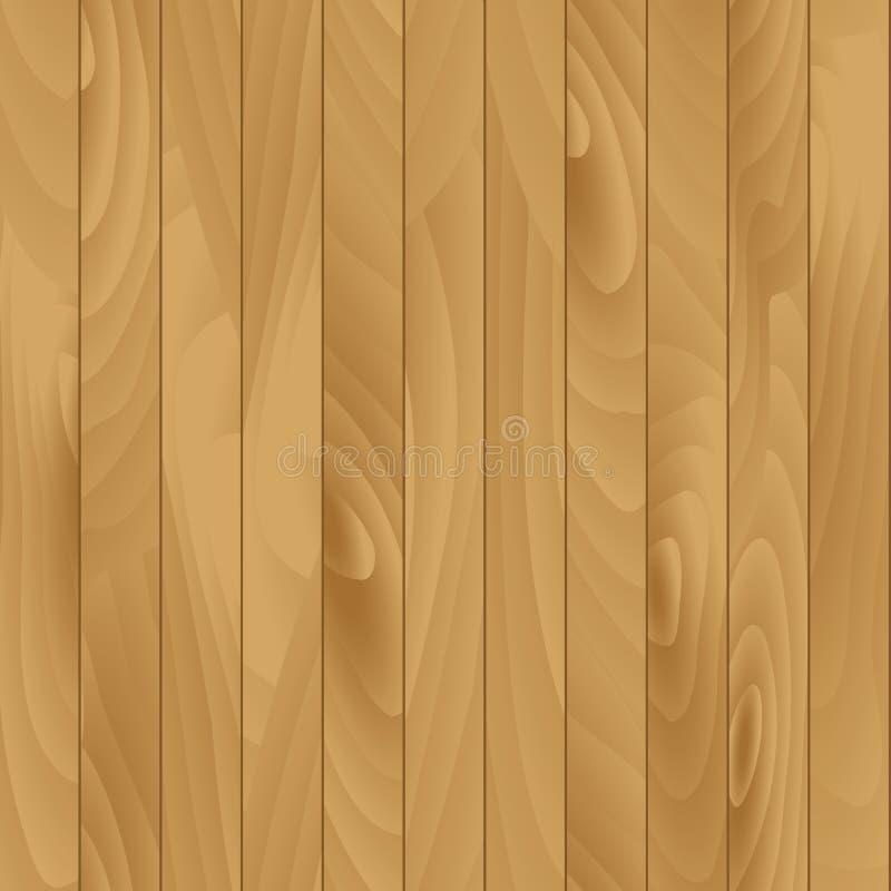 平的木纹理传染媒介无缝的例证 库存例证
