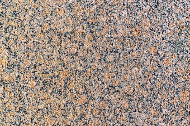 平的花岗岩表面的自然纹理 免版税库存照片