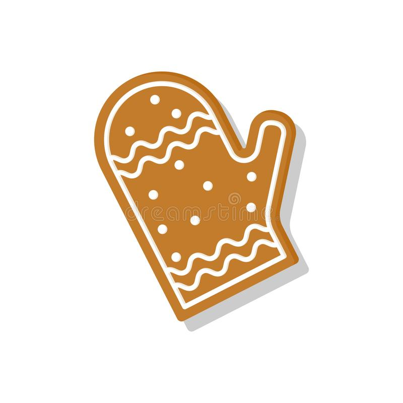 平的被称呼的姜饼 免版税库存照片