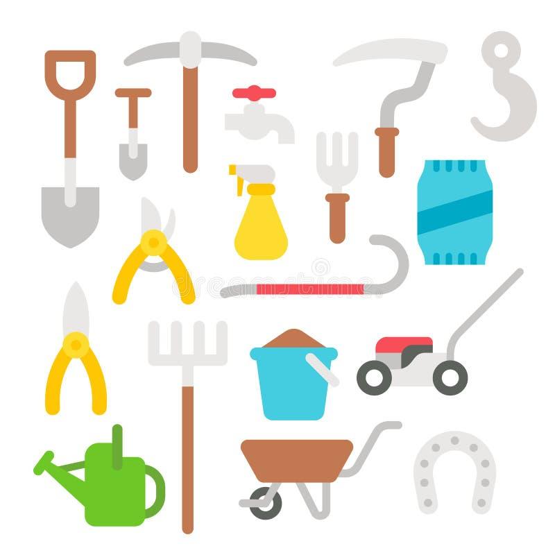 农夫的工具_平的设计农夫工具箱.
