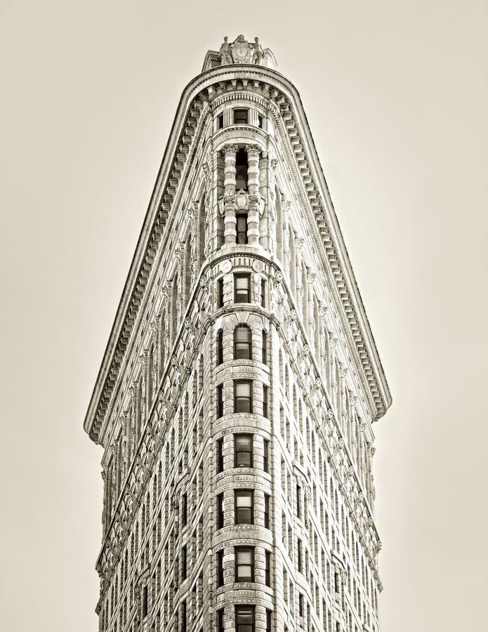 平的铁大厦 免版税库存图片