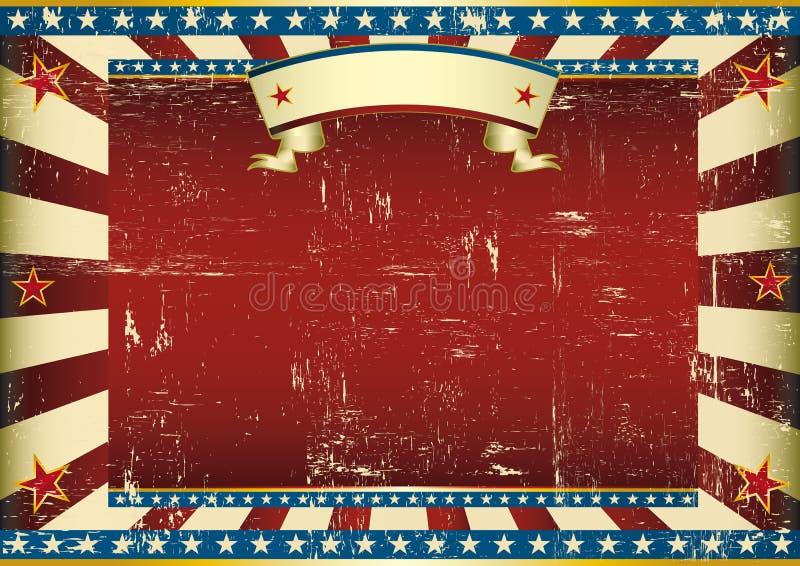 水平的织地不很细美国背景 皇族释放例证