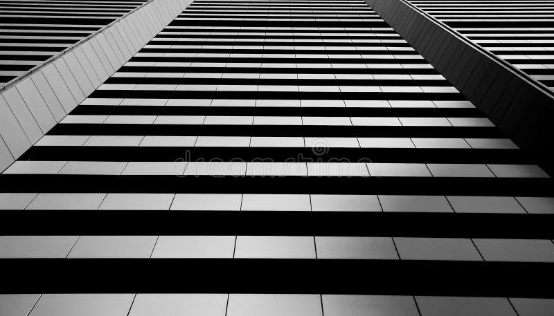平直的建筑限界 免版税库存照片