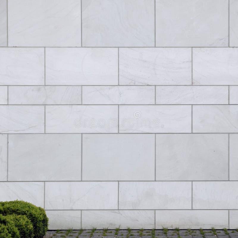 平稳的石墙 免版税库存照片