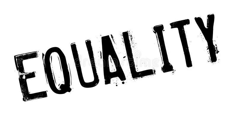 平等不加考虑表赞同的人 库存例证