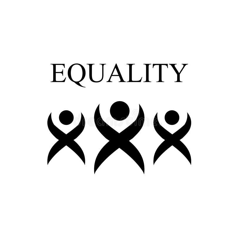 平等国际天零的歧视 向量例证