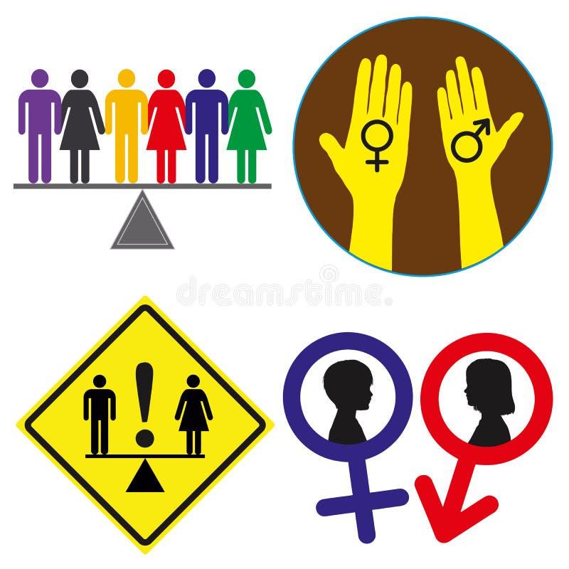 平等权利 皇族释放例证