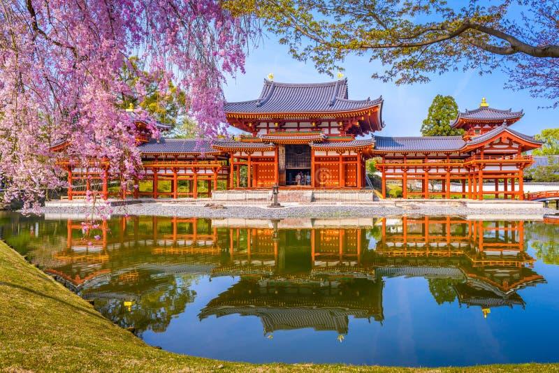 平等院寺庙京都 免版税库存图片