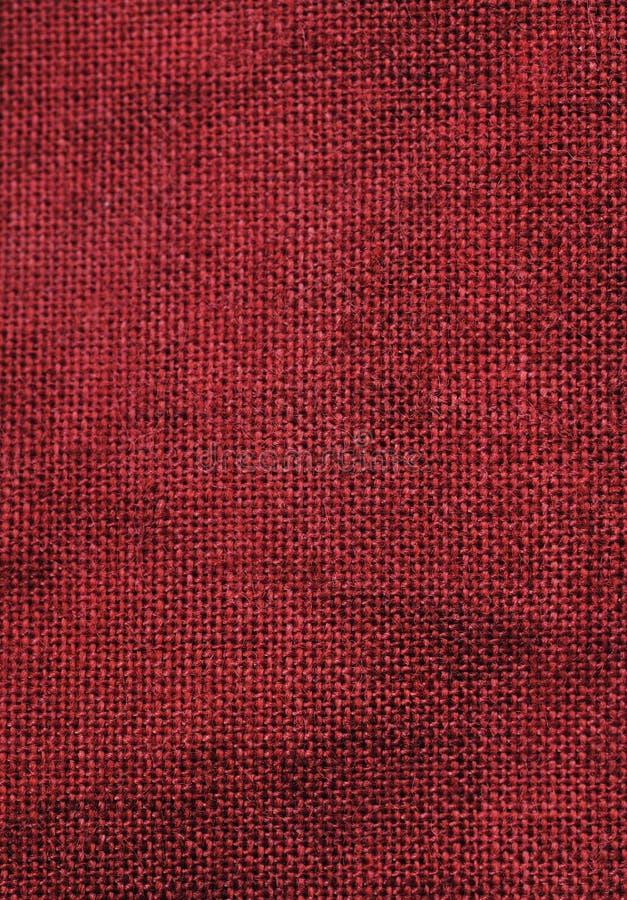 平纹细布红色 免版税库存照片