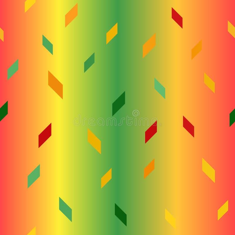 平行四边形样式 1866根据Charles Darwin演变图象无缝的结构树向量 库存例证