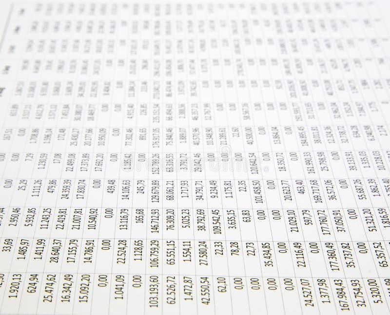 平衡圆珠笔深度末端域集中的笔页小的文本 免版税库存照片