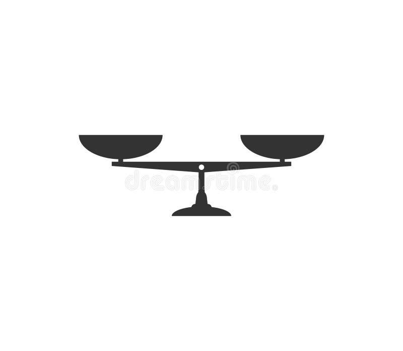 平衡标度象 : 库存例证