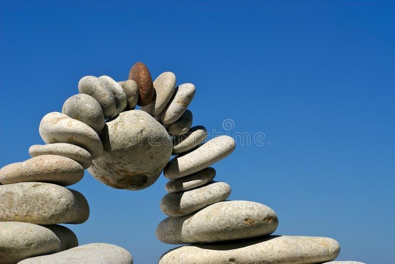 平衡桥梁 库存图片