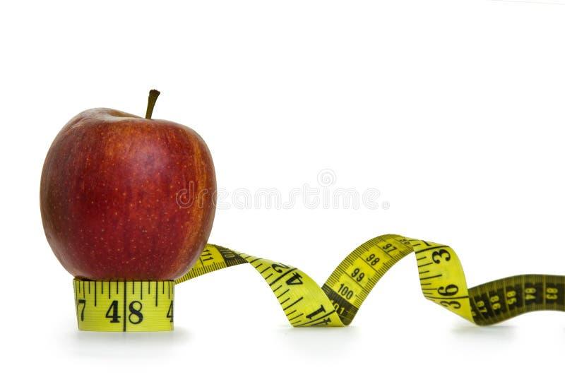 平衡概念饮食 免版税库存照片