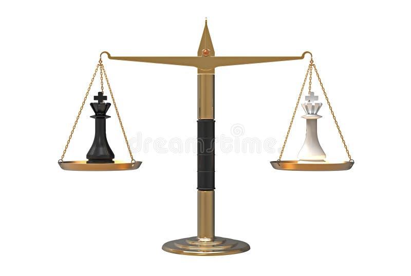 平衡次幂 库存例证