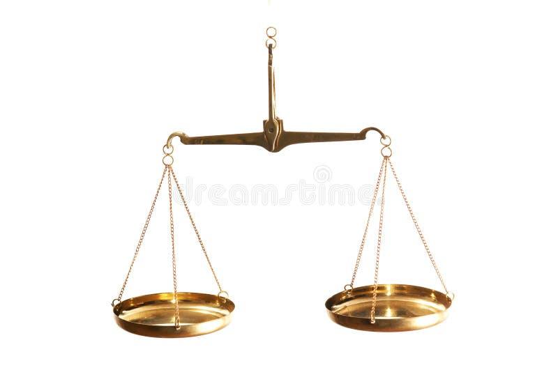 平衡法律 免版税库存照片