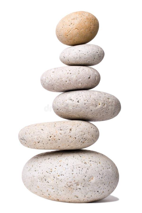 平衡石头 图库摄影