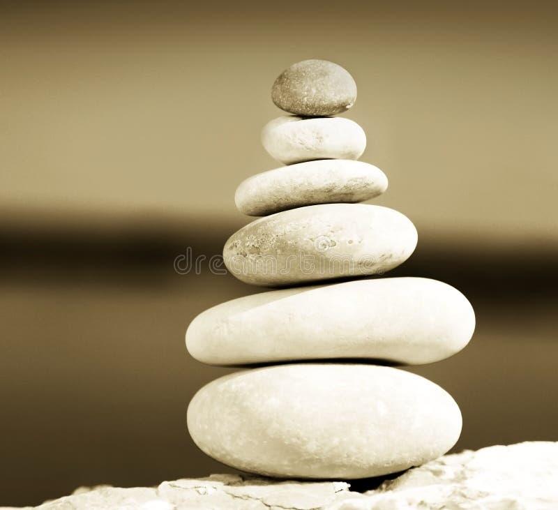 平衡禅宗 库存图片