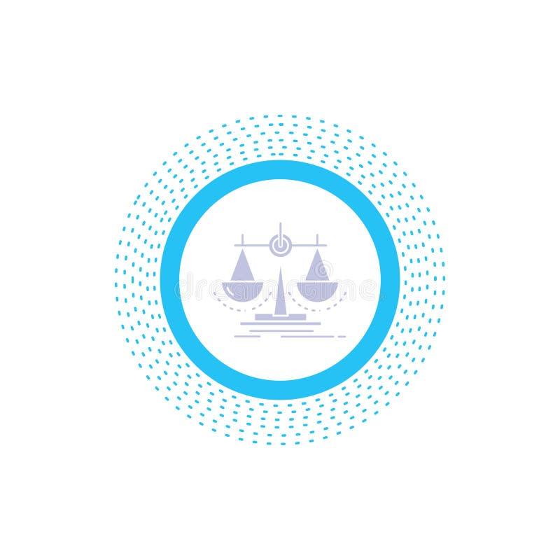 平衡,决定,正义,法律,标度纵的沟纹象 r 皇族释放例证
