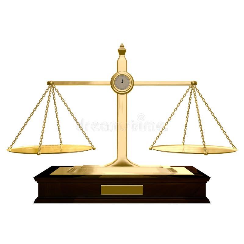 平衡 向量例证