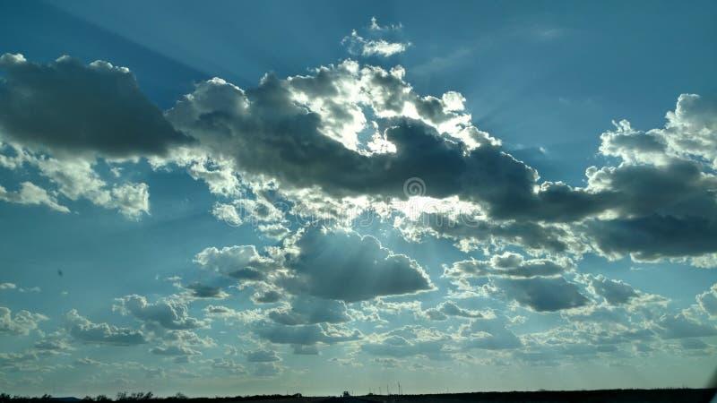 平静的天空 库存图片