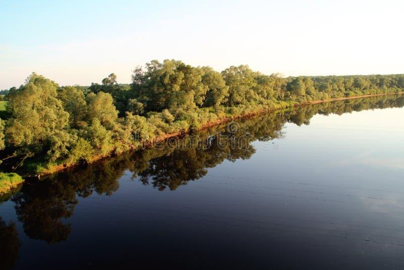 平静的河 库存照片