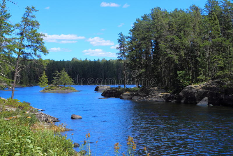 平静的湖 库存照片