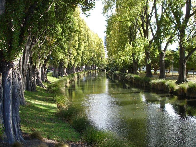 平静1条的河 库存照片