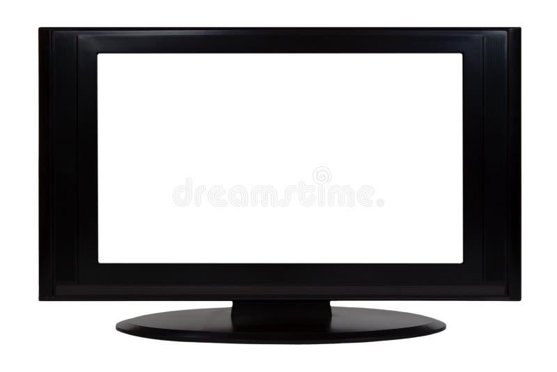 平面式屏幕电视 免版税图库摄影