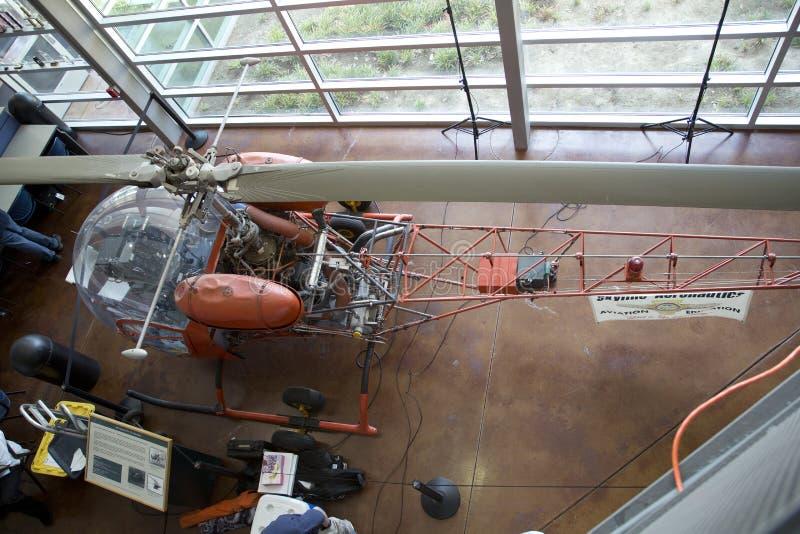 平面模型在边境飞行博物馆 库存图片