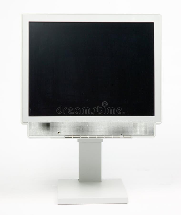 平面的监控程序个人计算机 免版税图库摄影