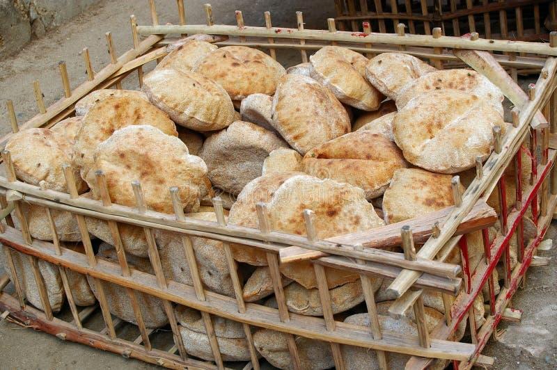 平面的面包 免版税库存图片