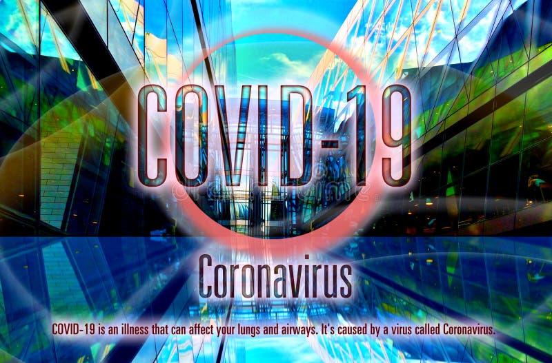 2020年全球流行冠状病毒covid-19 免版税库存图片