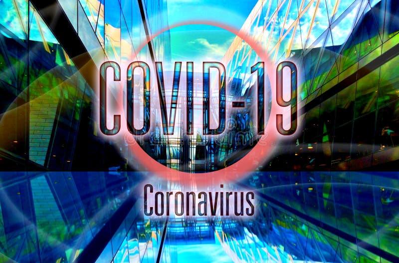 2020年全球流行冠状病毒covid-19 库存照片