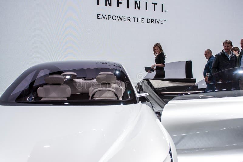 2018年北美国际汽车展 库存图片