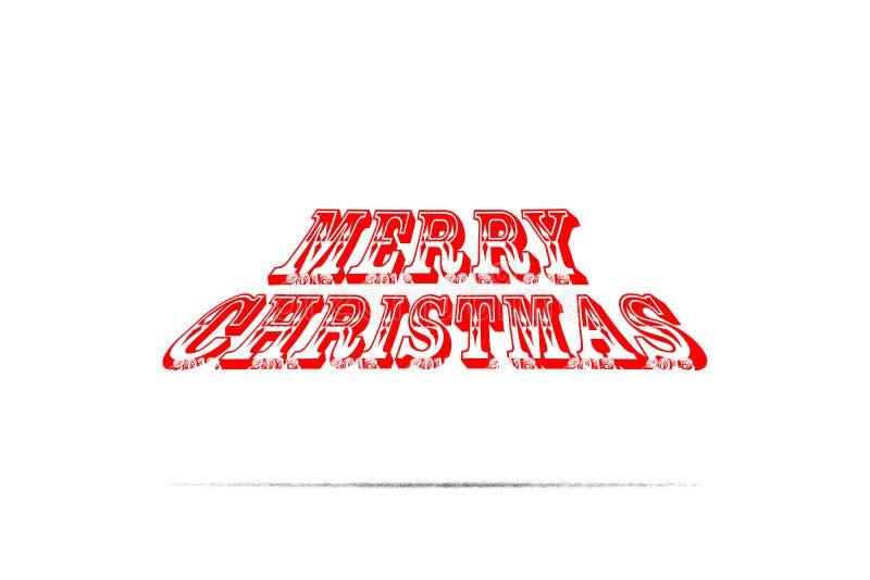 2018年圣诞快乐和新年快乐 图库摄影