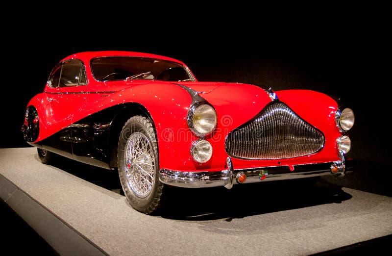 1951年塔波特拉戈T 26在Blackhawk博物馆提出的体育小轿车 加州 美国 免版税库存照片