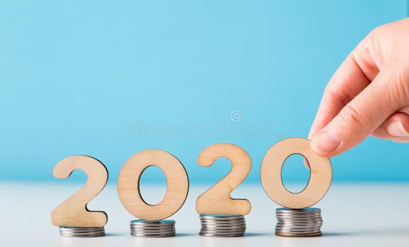 2020年大家的财政和经济成长 免版税图库摄影