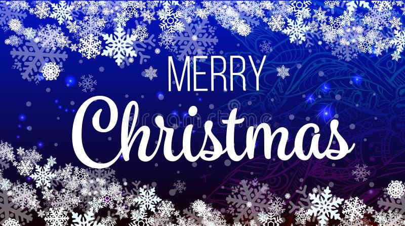 2018年新年快乐或圣诞节背景创造性的贺卡设计 库存例证
