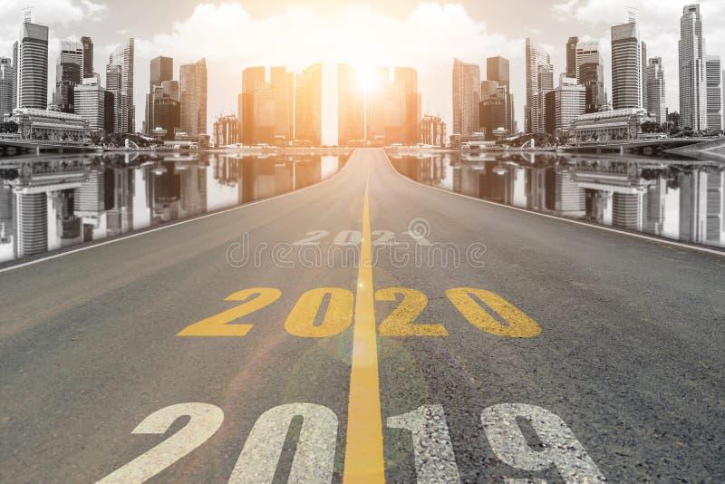 2020年新年概念 免版税库存照片
