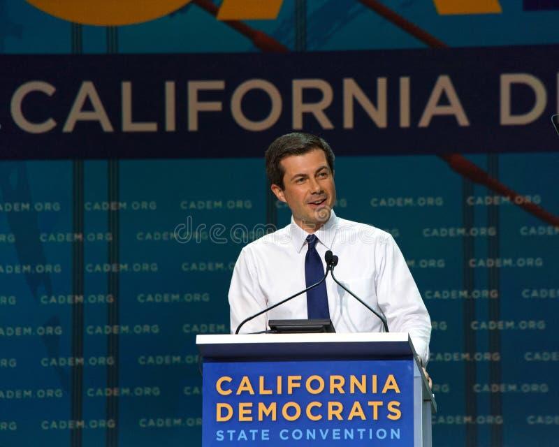 2019年民主党全国代表大会,旧金山,加利福尼亚 免版税库存照片