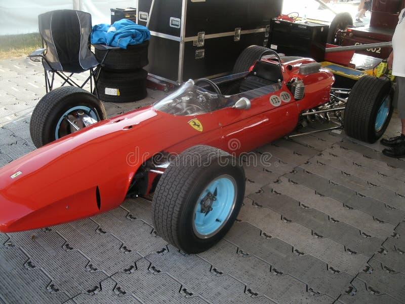 1964年法拉利158格兰披治赛车 库存照片