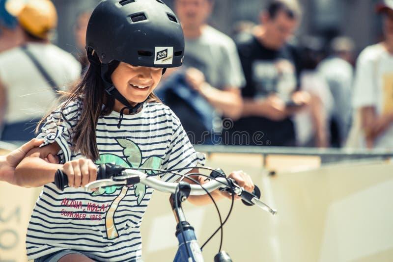 2019年环法自行车赛 图库摄影