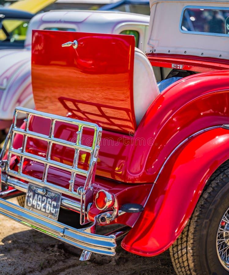 1932年福特模型18豪华跑车 免版税库存图片