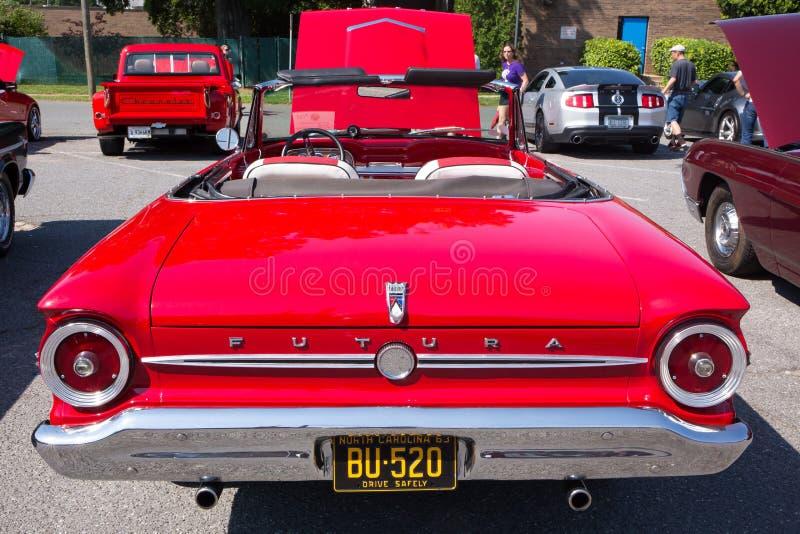 1963年福特猎鹰汽车 免版税库存图片